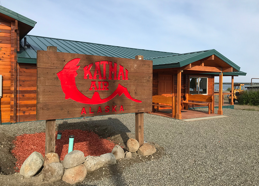 Katmai Air King Salmon Office