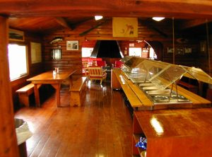 Brooks Lodge Dining Area