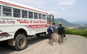 Brooks Lodge Valley Natural History Tour Bus