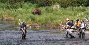Brooks Lodge Brooks River Guided Fishing