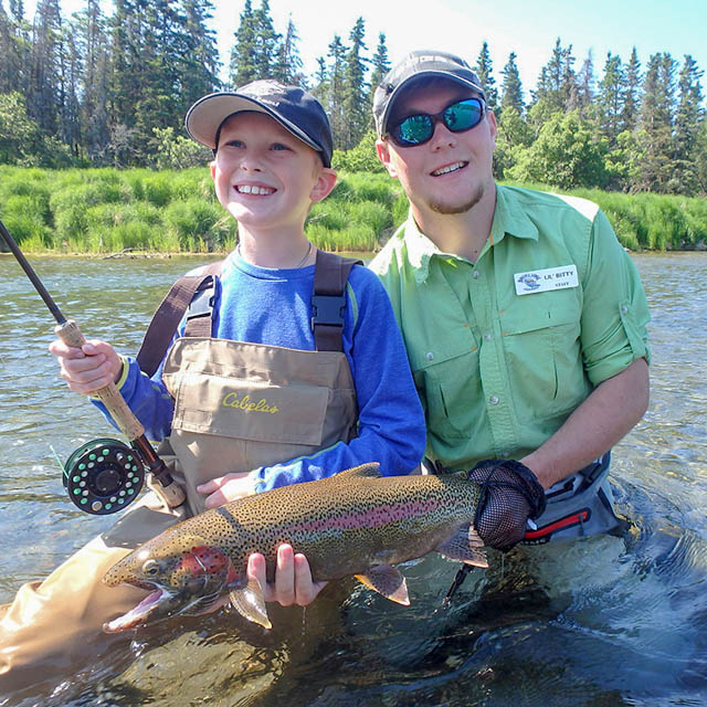 Brooks Lodge Guide and Brooks River Rainbow Trout